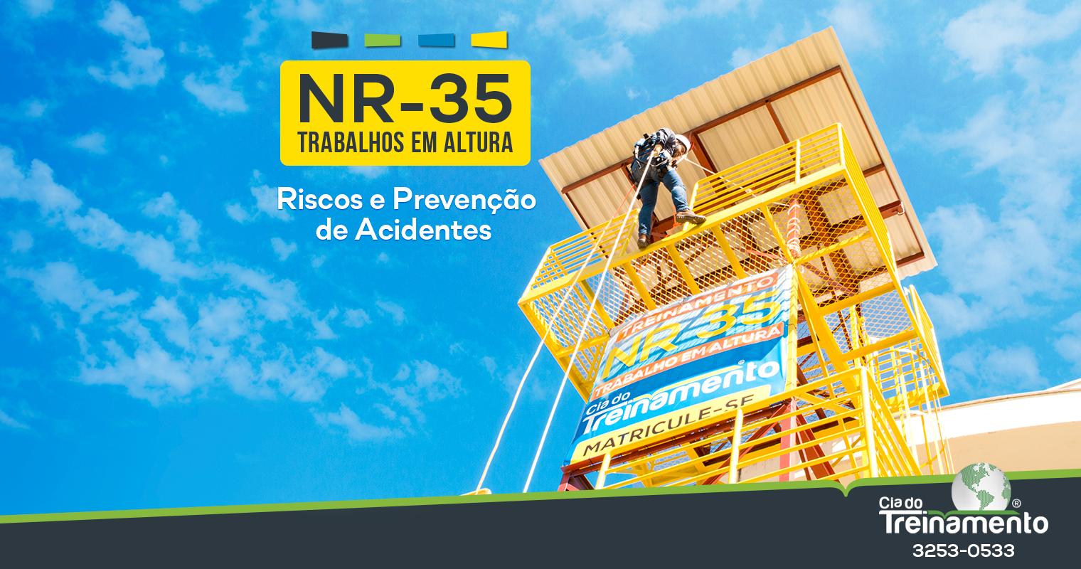 Trabalhos em Altura (NR-35): Riscos e Prevenção de Acidentes