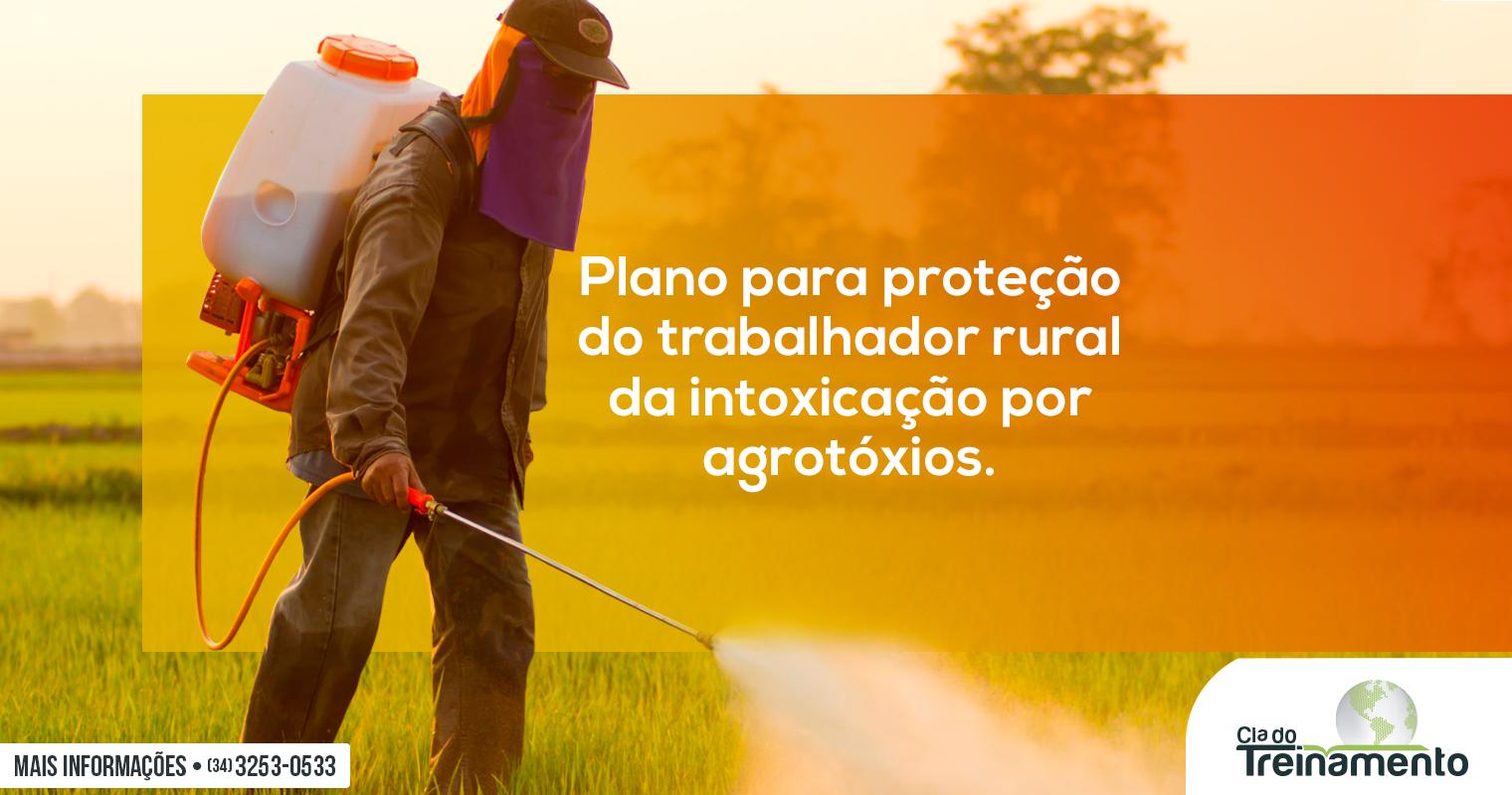 Saúde elabora Plano para proteção do trabalhador rural da intoxicação por agrotóxicos