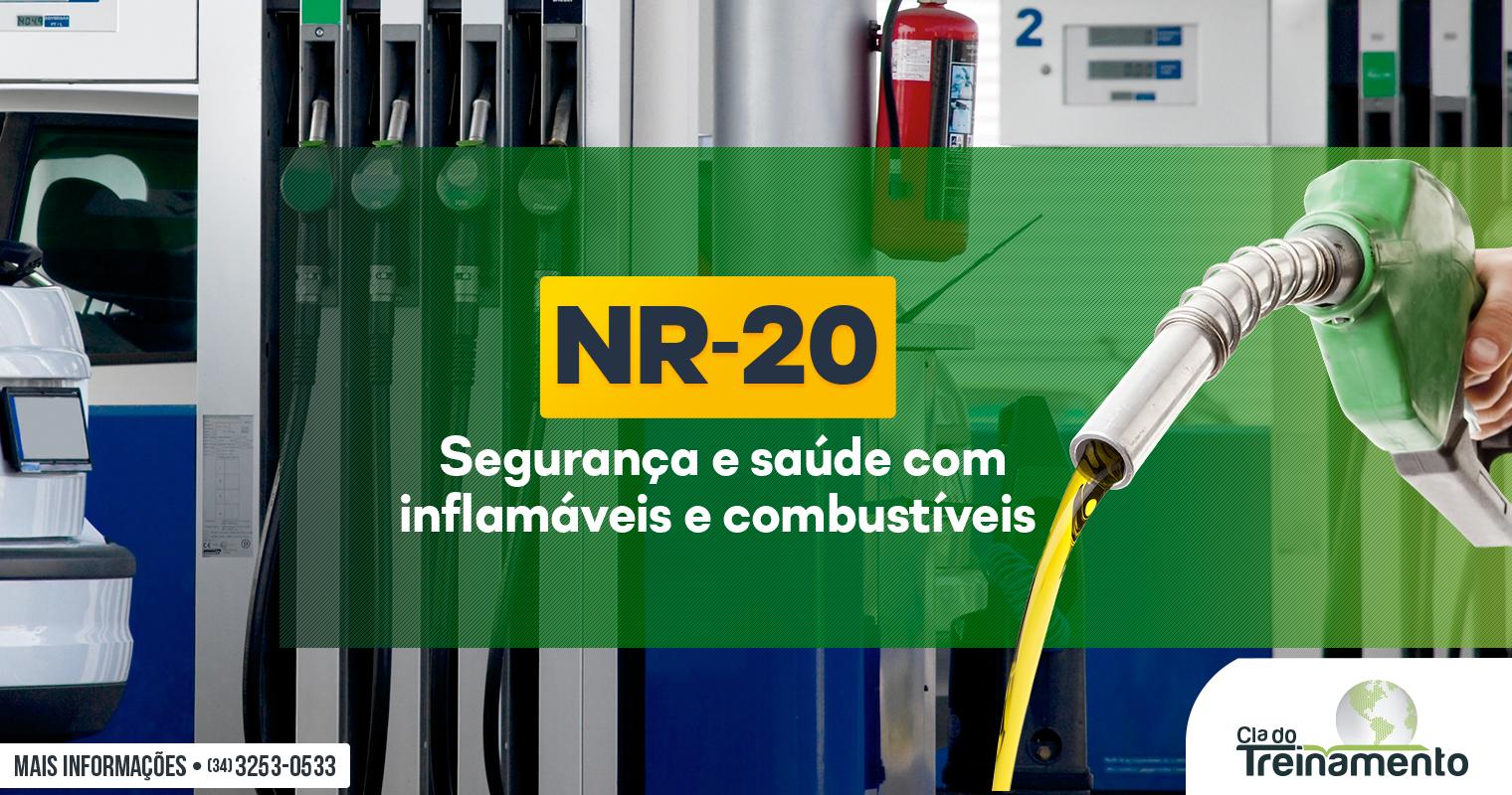 NR-20: Segurança e saúde com inflamáveis e combustíveis