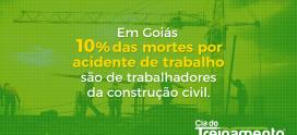 Em Goiás, 10% das mortes por acidente de trabalho são de trabalhadores da construção civil