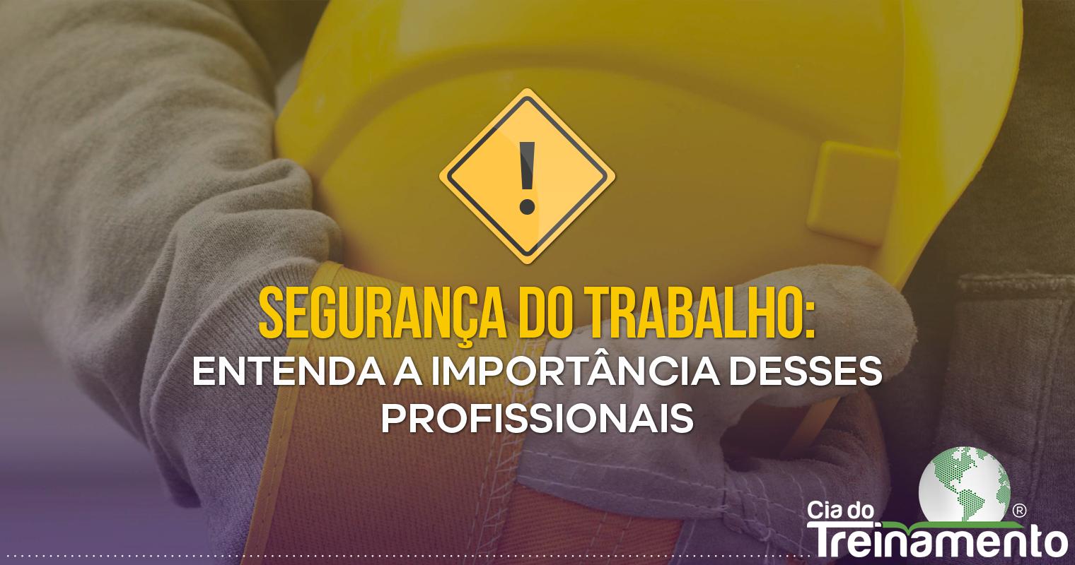 Segurança do Trabalho: Entenda a importância desses profissionais