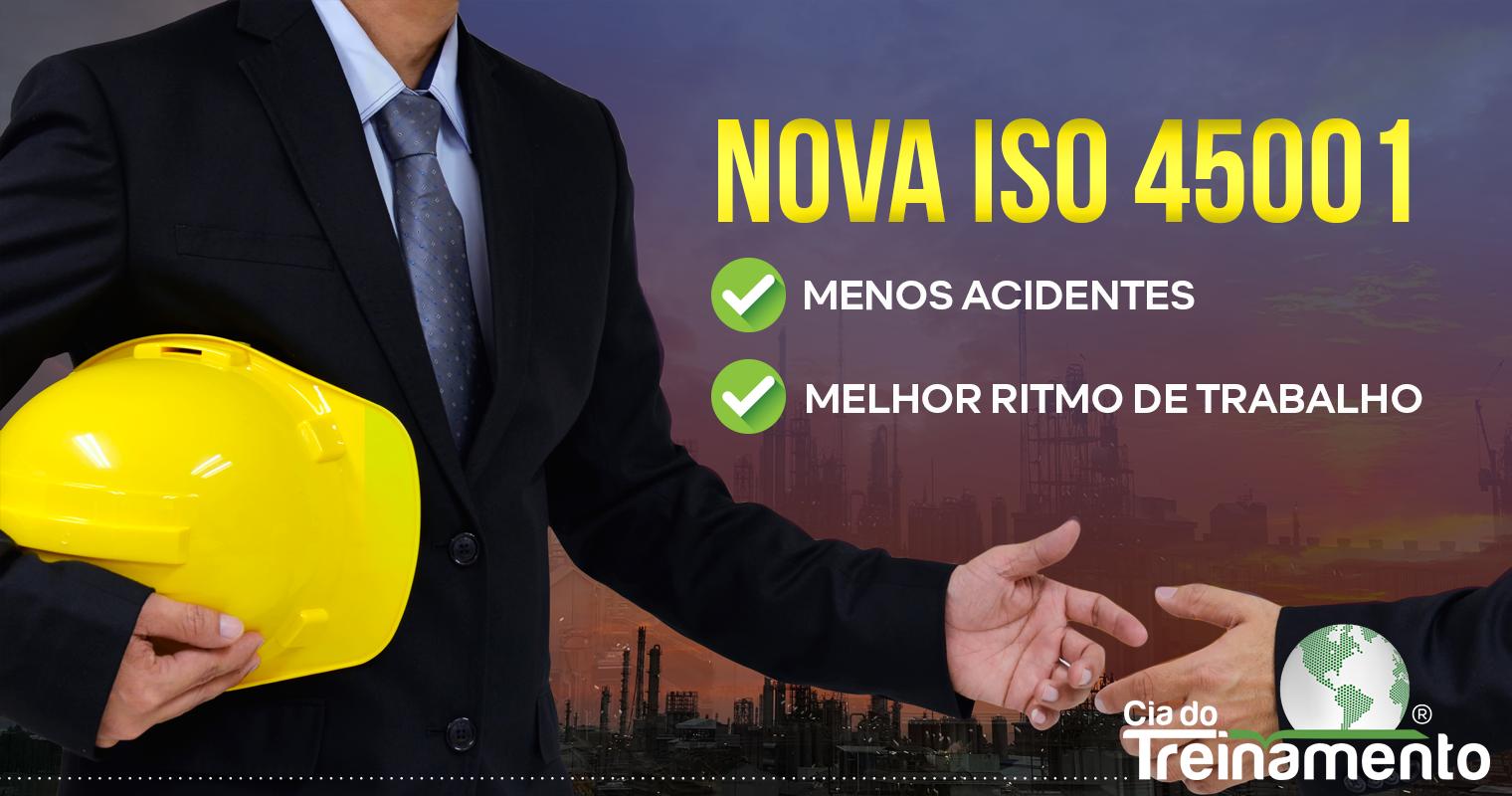 Nova ISO 45001 – Gestão de segurança do trabalho valoriza empresas no mercado